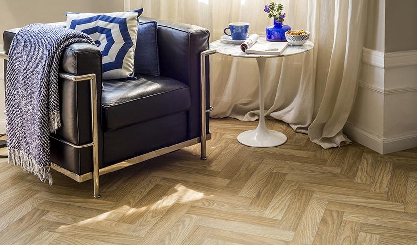 Avenue Floors Become A Herringbone Home
